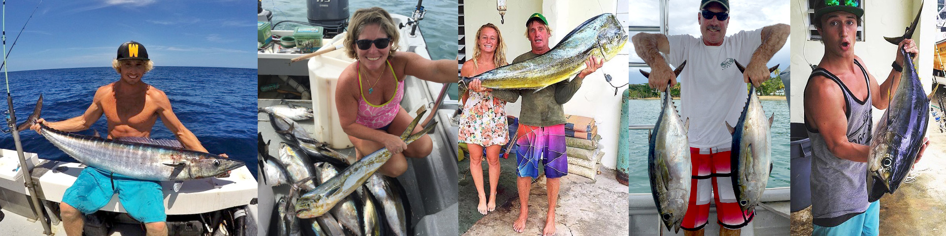 Rincon fishing charter boat - black pearl fishing charters in puerto rico.